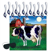Pin The Tail On The Cow Game