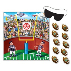 Pin The Ball Football Game