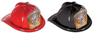 Junior Firefighter Hat - Flame Shield (Select Helmet Color)