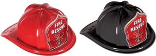 Fire Rescue Firefighter Hat (Choose Color)