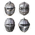 Knight Masks (4/pkg)