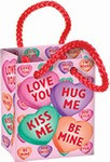 Candy Heart Mini Party Favor Bags (4/Pkg)