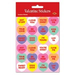 Candy Heart Stickers