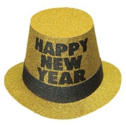 Gold Mirage New Year Hi-Hat (sold 25 per box)