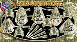 Gold Sophisticate Lazer-Etched New Year Assortment