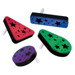 Multicolor Plastic Metallic Noisemakers