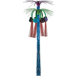 Multi-Color New Year Cascade Hanging Column