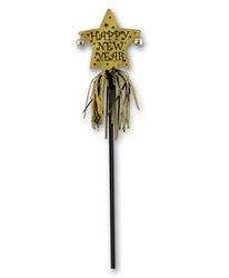 Gold New Year Party Wand