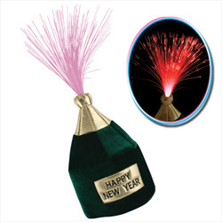 Light Up Bottle Head Hat