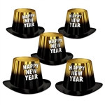 Gold Entertainer New Year Hi-Hat