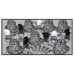 Zebra Print Assortment (for 50 people)