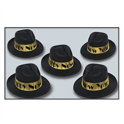 Gold Swing Fedora