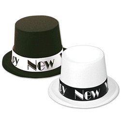 Putting On The Ritz New Year Topper Hats (1/pkg)