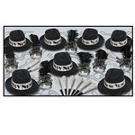 Swingin Black and Silver New Year Assortment