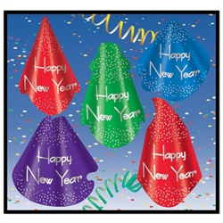 Headliner New Year Hats (sold 50 per box)