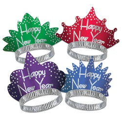 Headliner New Year Tiaras