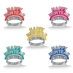 Assorted Happy New Year Tiaras