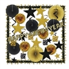 Glistening Gold New Year Decorating Kit