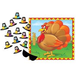 Pin The Hat Turkey Game