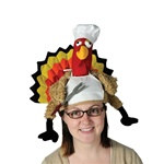Plush Chef Turkey Hat