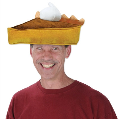 Plush Pumpkin Pie Hat