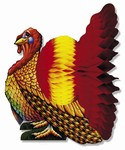 Madras Turkey Centerpiece, 12 inches