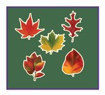 Mini Leaf Cutouts (10/Pkg)