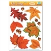Fall Leaf Window Clings (10/sheet)