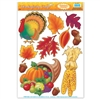 Thanksgiving Window Clings (11/sheet)