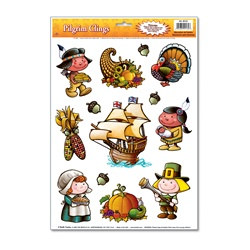 Pilgrim Window Clings (13/sheet)