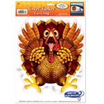 Crazy Turkey Car Cling