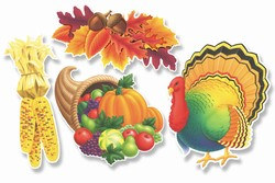 Thanksgiving Cutouts