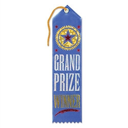 Grand Prize Winner Ribbon
