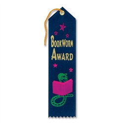 Bookworm Award Ribbon