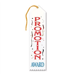 Promotion Award Ribbon