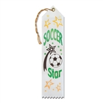 Soccer Star Ribbon