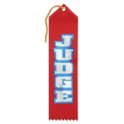 Judge Ribbon