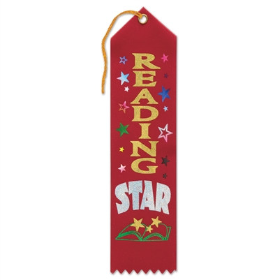Reading Star Ribbon