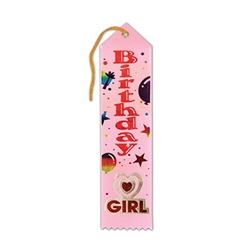 Purple Birthday Girl Ribbon