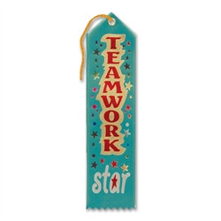 Teamwork Star Ribbon