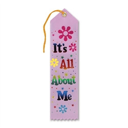 It's All About Me Award Ribbon