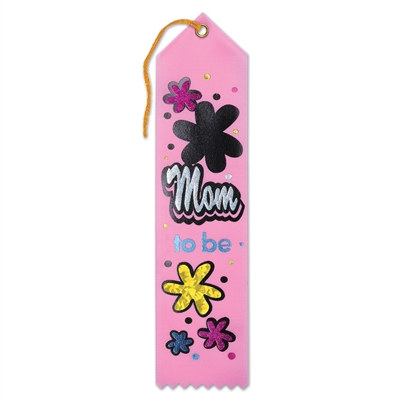 Mom To Be Award Ribbon