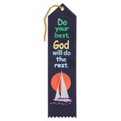 Do Your Best God Will Do The Rest Ribbon
