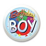 Birthday Boy Blinking Button