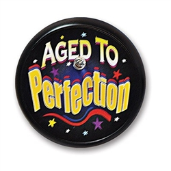 Aged To Perfection Blinking Button
