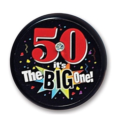 50 It's The Big One Blinking Button