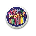 Very Special Birthday Blinking Button
