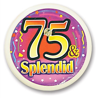 75 and Splendid Blinking Button
