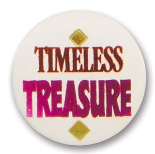 Timeless Treasure Satin Button