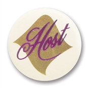 Host Satin Button